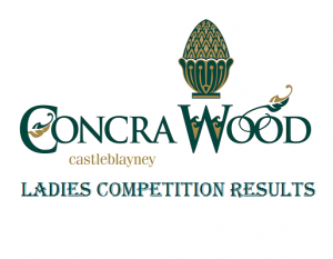 ladies competition results